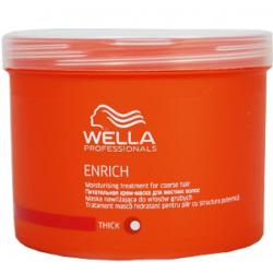 Enrich Moisturizing Treatment For Coarse Hair Drėkinanti kaukė šiurkštiems plaukams, 500 ml