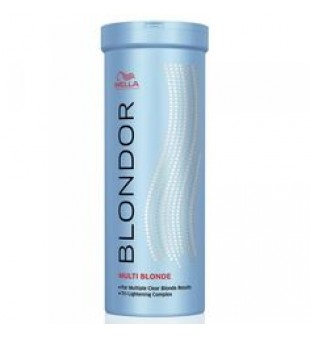 Wella Blondor Extra Cool Blonde Powder Šviesinimo milteliai, 150g | inbeauty.lt