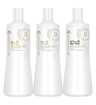 Wella Blondor Freelights Developer Oksidacinė emulsija, 1000ml | inbeauty.lt