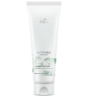 Wella NutriCurls Cleansing Conditioner for Curls Valomasis kondicionierius garbanotiems plaukams, 250ml | inbeauty.lt