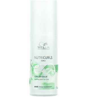 Wella NutriCurls Curlixir Balm Nenuplaunamas balzamas garbanotiems plaukams, 150ml | inbeauty.lt