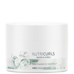 NutriCurls Deep Treatment for Curls & Waves Intensyvi atkuriamoji plaukų kaukė, 150ml