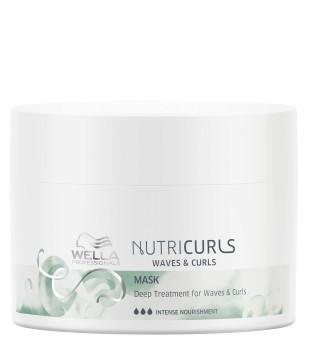 Wella NutriCurls Deep Treatment for Curls & Waves Intensyvi atkuriamoji plaukų kaukė, 150ml | inbeauty.lt