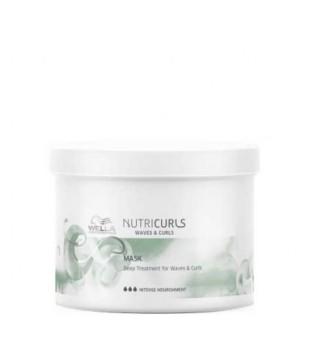Wella NutriCurls Deep Treatment for Curls & Waves Intensyvi atkuriamoji plaukų kaukė, 500ml | inbeauty.lt