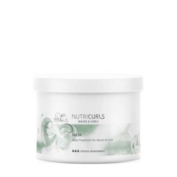 NutriCurls Deep Treatment for Curls & Waves Intensyvi atkuriamoji plaukų kaukė, 500ml