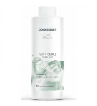 Wella NutriCurls Detangling Conditioner for Curls Maitinamasis kondicionierius garbanotiems plaukams, 1000ml | inbeauty.lt