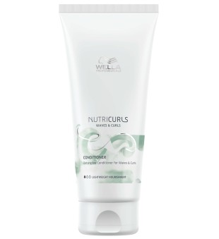 Wella NutriCurls Detangling Conditioner for Curls Maitinamasis kondicionierius garbanotiems plaukams, 200ml | inbeauty.lt