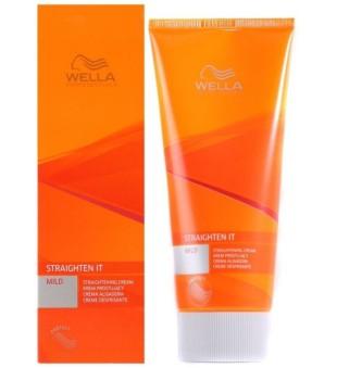 Wella Straighten It Mild Straightening Cream Bazė ilgalaikiam tiesinimui, 200ml   inbeauty.lt