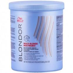 Blondor Multi Blonde Powder Šviesinimo milteliai, 800g