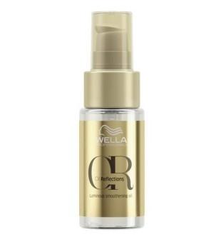Wella Oil Reflections Luminous Smoothing Oil Žvilgesio suteikiantis lyginamasis aliejus plaukams, 30 ml | inbeauty.lt