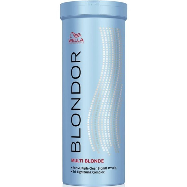 Blondor Multi Blonde Powder Šviesinimo milteliai, 400g