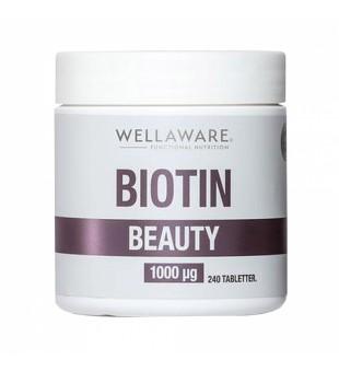 WellAware Biotin Beauty 1000mcg N240 | inbeauty.lt
