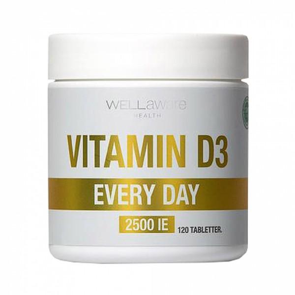 Vitamin D3 Everyday Maisto papildas, N120