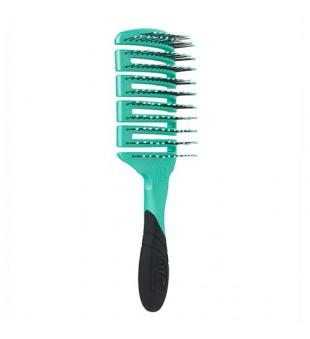 Wet Brush Flex Dry Paddle Purist Blue Stačiakampis šepetys plaukų džiovinimui, 1vnt | inbeauty.lt