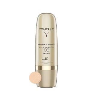 Yonelle Metamorphosis D3 Anti-Wrinkle CC Cream SPF10 Light Neutral Priešraukšlinis CC kremas, 50ml | inbeauty.lt