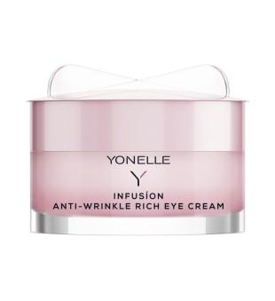 Yonelle Infusion Anti-Wrinkle Rich Eye Cream Maitinamasis paakių kremas nuo raukšlių, 15ml | inbeauty.lt