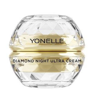 Diamond Night Ultra Cream Gaivinamasis naktinis veido kremas, 50ml
