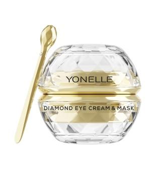 Yonelle Diamond Eye Cream & Mask Paakių kremas-kaukė su deimantų dulkėmis, 30ml | inbeauty.lt