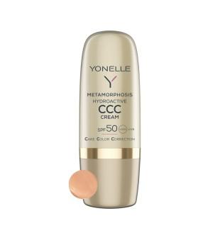 Yonelle Metamorphosis Hydroactive CCC Cream SPF 50 Atspalvį suteikiantis veido kremas, 30ml | inbeauty.lt