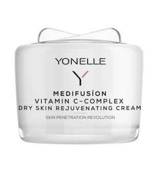 Yonelle Medifusion Vitamin C-Complex Dry Skin Rejuvenating Cream Maitinamasis kremas sausai odai, 55ml   inbeauty.lt