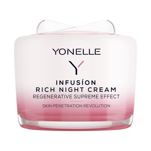 Infusion Rich Night Cream Maitinamasis naktinis veido kremas, 55ml