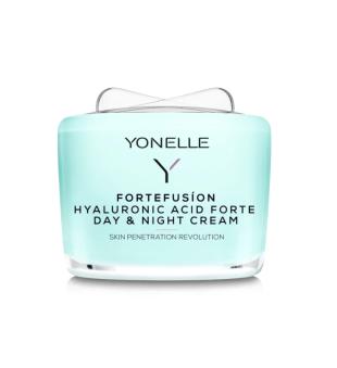 Yonelle Fortefusion Hyaluronic Acid Forte Day & Night Cream Drėkinamasis veido kremas, 55ml | inbeauty.lt