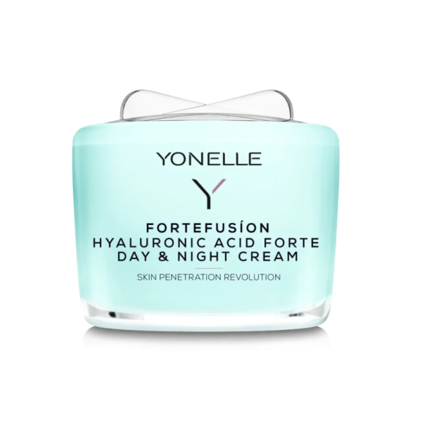 Fortefusion Hyaluronic Acid Forte Day & Night Cream Drėkinamasis veido kremas, 55ml