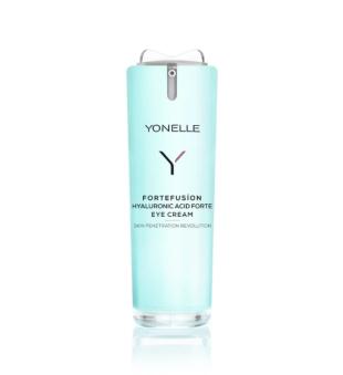 Yonelle Fortefusion Hyaluronic Acid Forte Eyey Cream Drėkinamasis paakių kremas, 15ml   inbeauty.lt