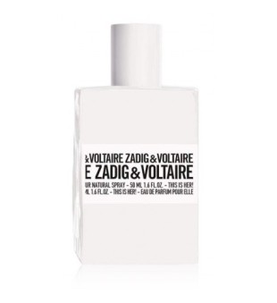 Zadig & Voltaire This Is Her Eau de Parfum Parfumuotas vanduo moterims, 50ml | inbeauty.lt