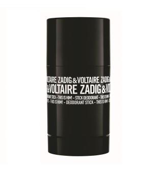 Zadig & Voltaire This Is Him! Deodorant Stick Tepamas kvapusis dezodorantas, 75ml | inbeauty.lt